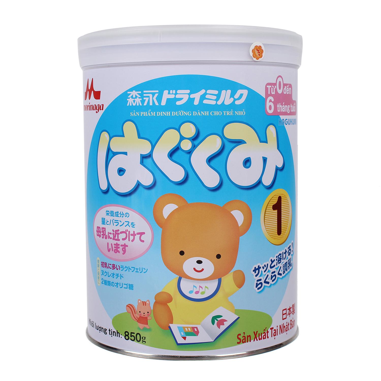 Đặc tính ưu việt sữa bột Morinaga Hagukumi số 1 850g