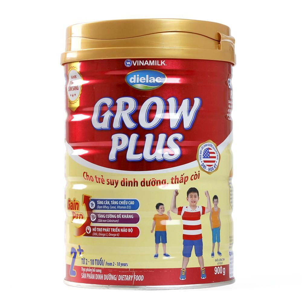 Sữa Vinamilk Dielac Grow Plus 2+ hộp 900g
