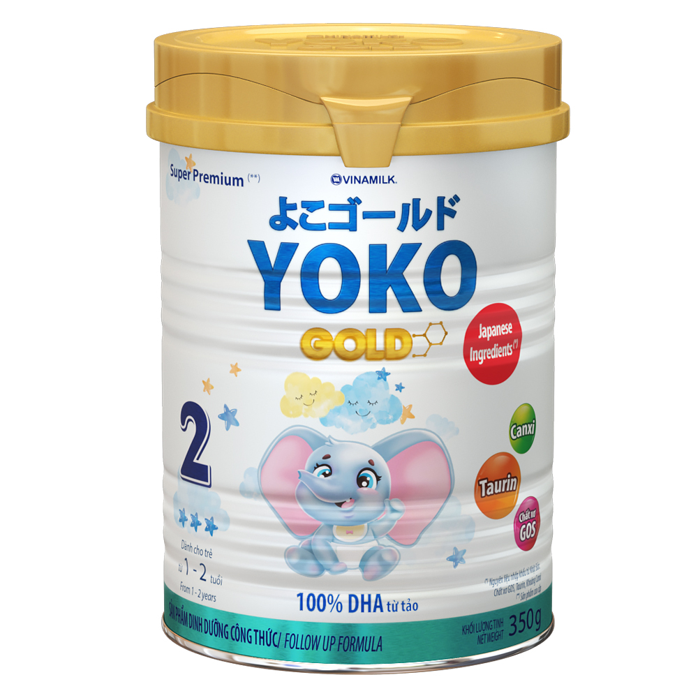 Sữa Vinamilk Yoko Gold 2 350g