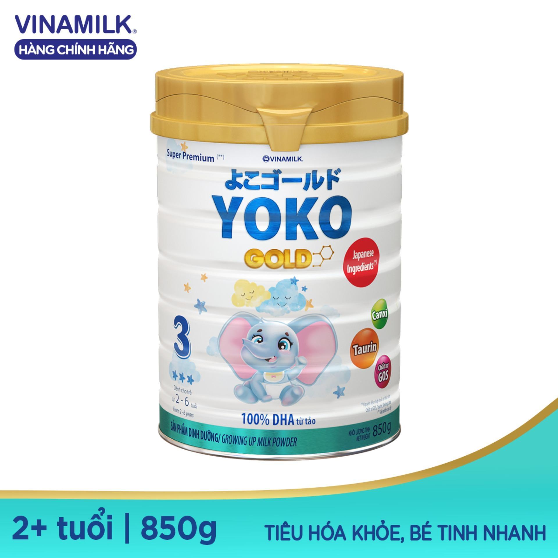 Sữa Vinamilk Yoko Gold 3 850g