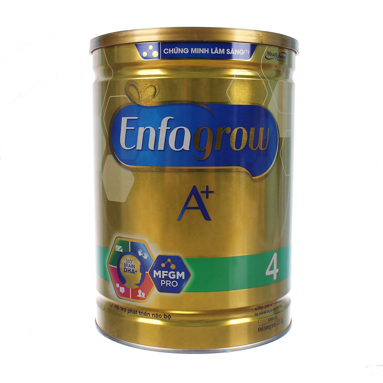 Sữa Enfagrow A+ số 4 870g cho bé 2 - 6 tuổi
