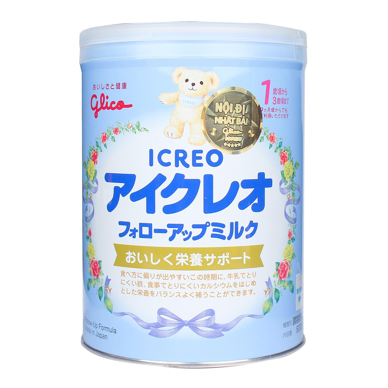 Sữa Glico Icreo số 1 820g cho bé