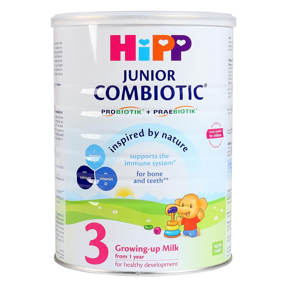 SữaHipp số 3 800g Junior Combiotic Organic