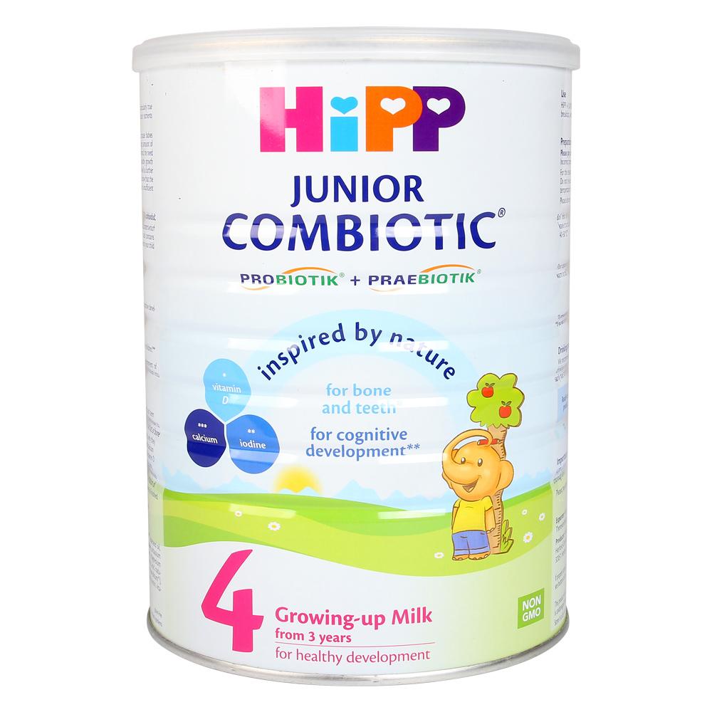 Sữa Hipp số 4 cho bé sự phát triển toàn diện