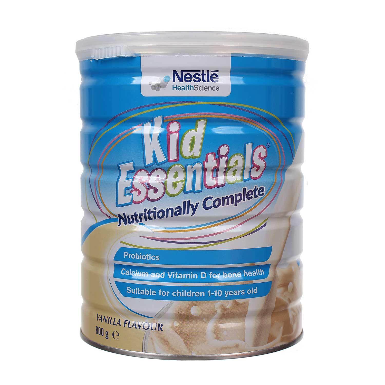 Sữa Kid Essentials 800g hương vani cho bé từ 1 - 10 tuổi
