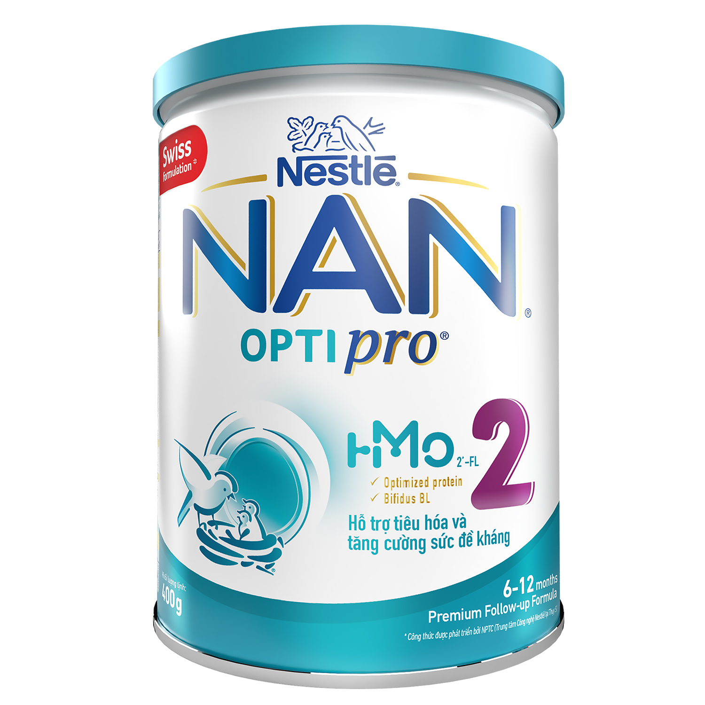 Sữa Nan Optipro 2 HMO400g