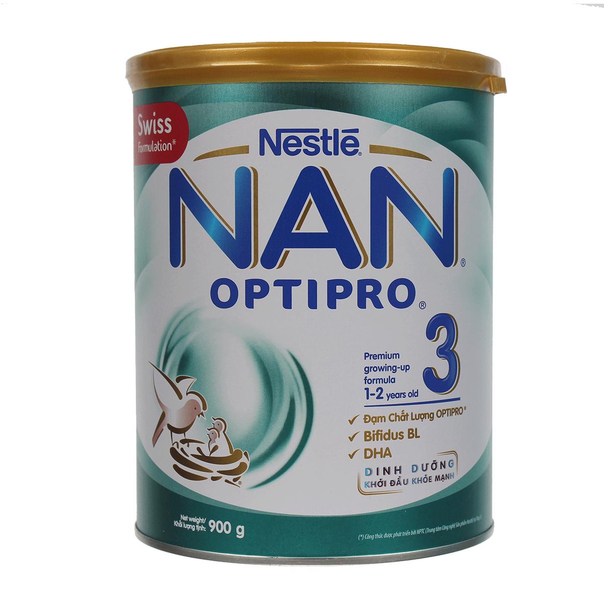 Sữa Nestle NAN Optipro số 3 hộp 900g nguồn dưỡng chất cho bé
