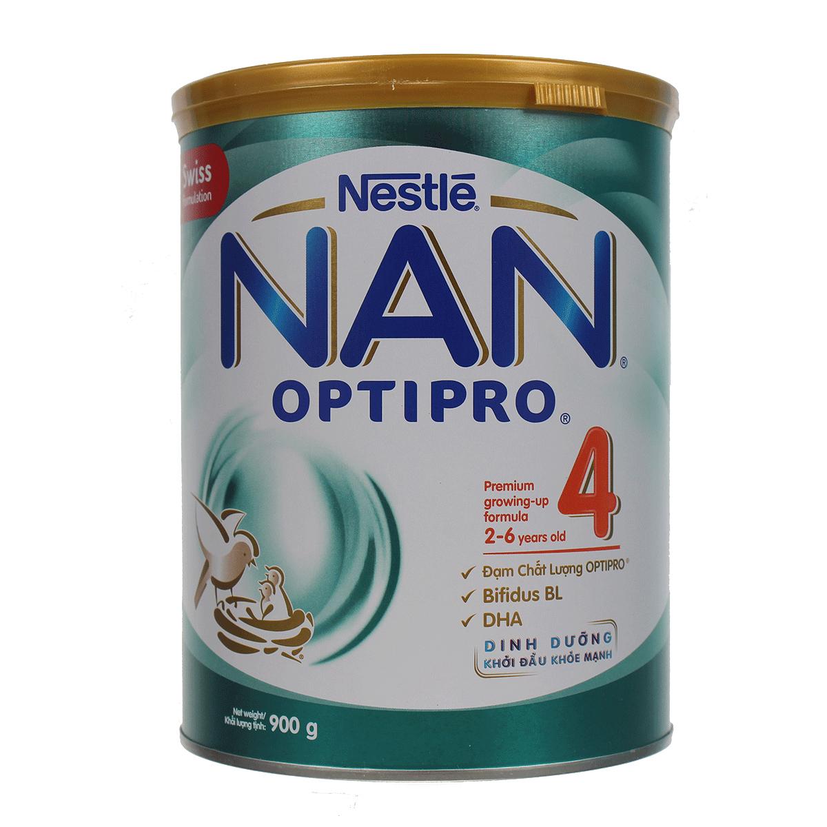 Sữa NAN Optipro 4 giúp hỗ trợ miễn dịch cho trẻ từ 2 đến 6 tuổi