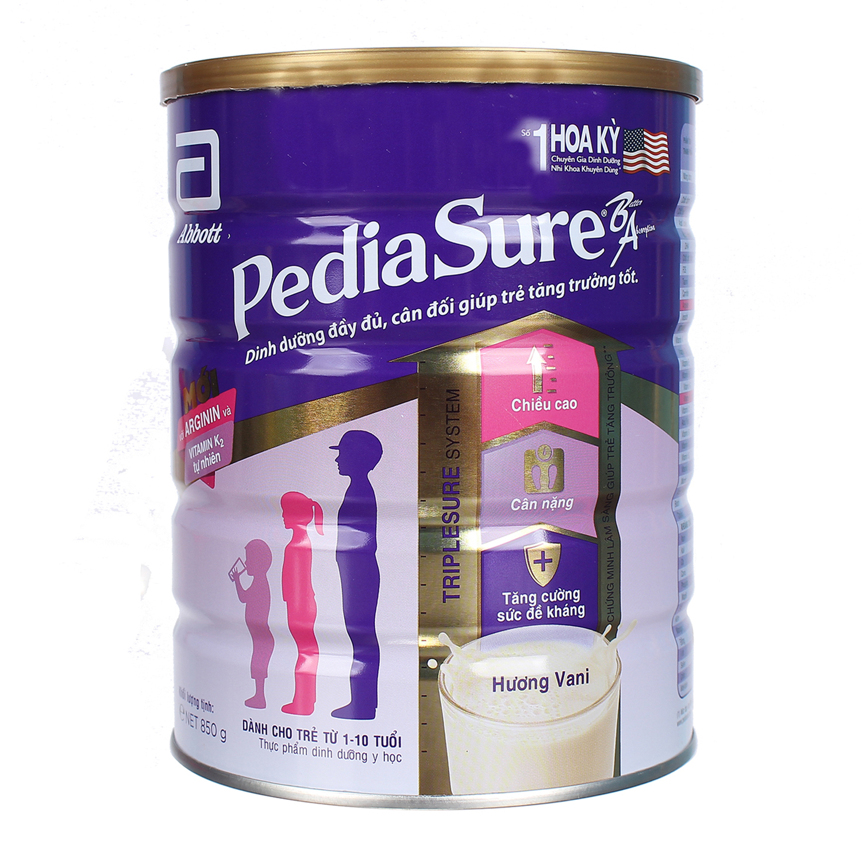 Sữa PediaSure BA hương Vani 850gr