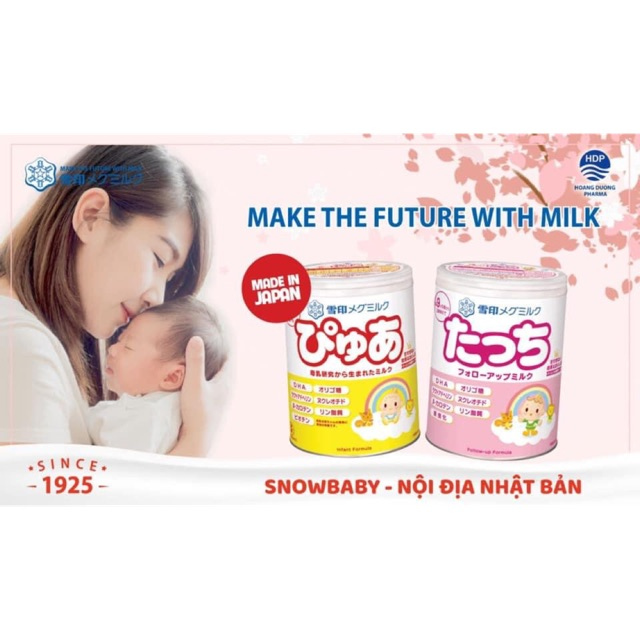 sữa snowbaby của nhật