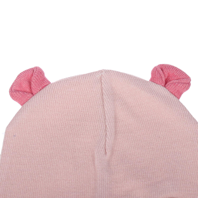 Mũ len 2 tai Mamago NĐ19D cam