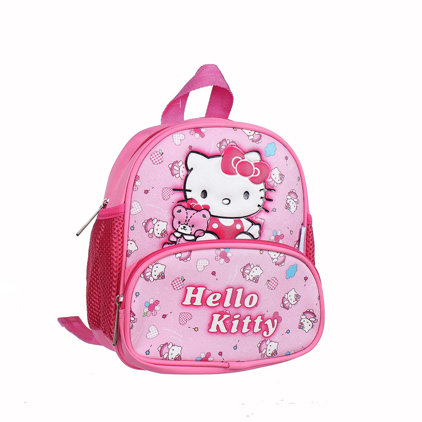 "Balo cho bé Mamago in Hello Kitty A9002 9"" chất liệu an toàn"