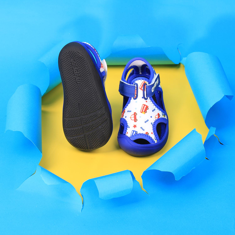Dép Sandal Thời Trang Cao Cấp Cho Bé Crtartu XBI1-B có đế chống trượt