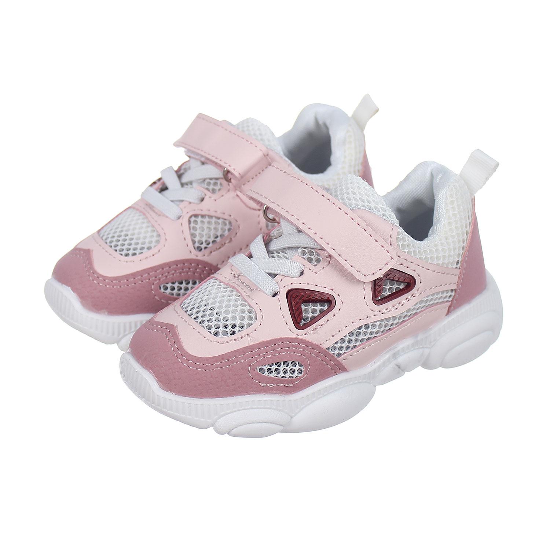Giày thời trang bé gái Mamago Sport HW18 màu hồng dễ thương