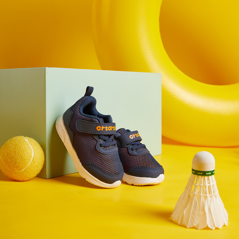 Giày thời trang bé trai Crtartu lưới xanh tím than XZ115-B