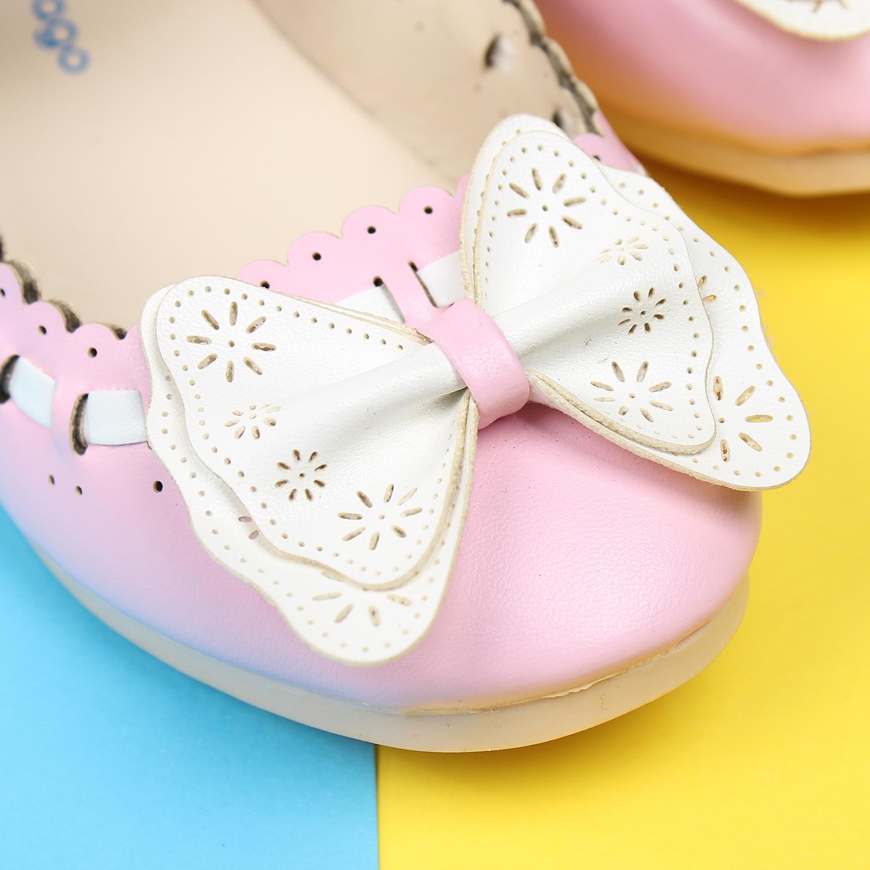 Giày thời trang cho bé gái Mamago HW9 đính nơ xinh xắn