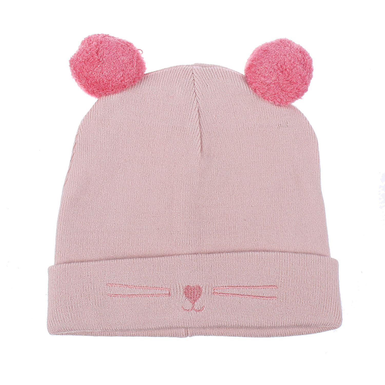 Set khăn mũ len Mamago NĐ19D (Cam)