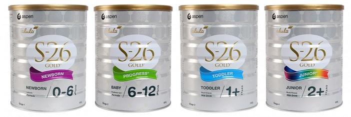 Dòng sữa bột S26 của Úc