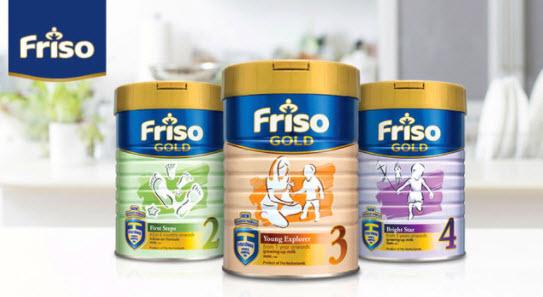 Sữa Friso Gold số 1, 2, 3