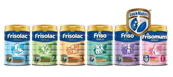 Sữa Friso Gold cho bé phát triển toàn diện