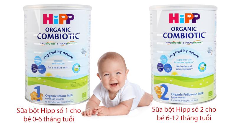 sữa hipp cho trẻ sơ sinh