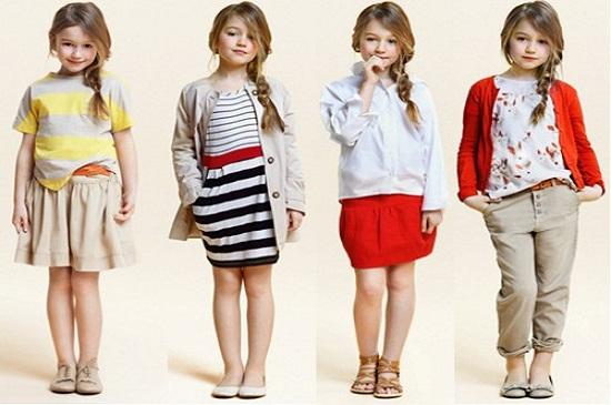 Váy cho bé gái