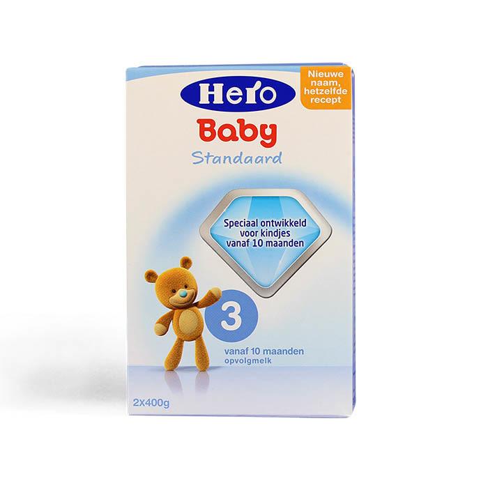 Sữa bột cho bé Hero Baby số 3 hộp 800g cung cấp nguồn dưỡng chất cần thiết  cho bé