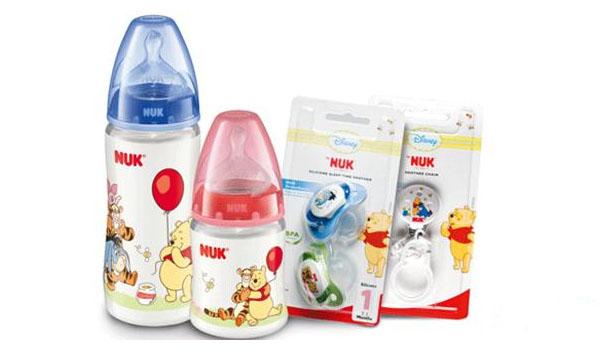 Bình sữa Nuk an toàn cho bé