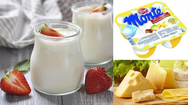 Váng sữa - pho mai - sữa chua - thực phẩm dinh dưỡng
